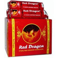 "Уголь ""Red Dragon"" 33мм, 10шт"
