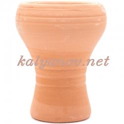 Чашка для табака глиняная шлифованная 104