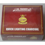 Уголь кальянный Al Fakher 33мм, 10таб
