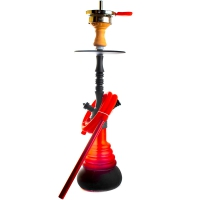 Кальян Amy Deluxe 4-Star 420 (psmbk-rd) Колба Красная Шахта Черная h=53 см