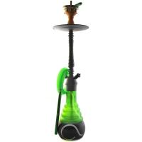 Кальян Amy Deluxe 4-Star 650 + Hot screen (green, psmbk) Колба Зеленая Шахта Черная h=71 см
