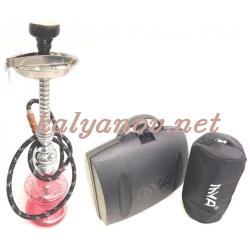 Кальян MYA в пластмассовом чемодане + сумочка для колбы 570297/3118-215 С