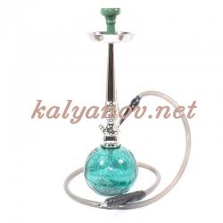 Кальян MYA TANGO Колба зеленое стекло 580150 C h=55 см