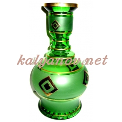Колба MYA, ваза, богемское стекло 3909-24 G