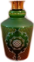 Колба MYA Бочонок с резьбой богемское стекло (3123-241)