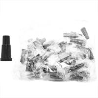 Мундштуки для кальяна 48шт Черные (цена за упаковку)