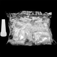 Мундштуки для кальяна 48шт Прозрачные (цена за упаковку)