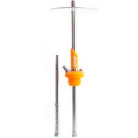 Кальян NUBE JUNIOR Silicone h=48 см Оранжевый Неон Orange Neon без колбы и чаши