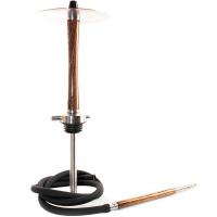 Кальян NUBE Zebrano h=52,5 см Коричневый Brown без колбы и чаши