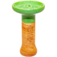 Чаша Облако Phunnel S Glaze Зеленая в Точку