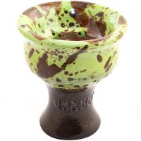Чаша Rixbowl Glased Classic Пятнистая Зеленая