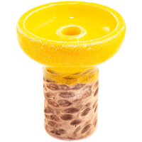 Чаша Rixbowl Glased Guarzo Phunnel Желтая
