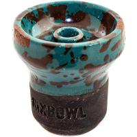 Чаша Rixbowl Glased Phunnel Пятнистая Бирюзовая