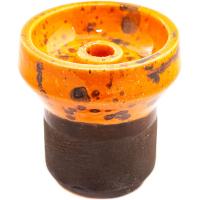 Чаша Rixbowl Glased Phunnel Пятнистая Оранжевая
