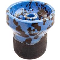 Чаша Rixbowl Glased Phunnel Пятнистая Синяя