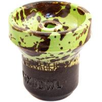 Чаша Rixbowl Glased Phunnel Пятнистая Зеленая