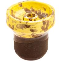 Чаша Rixbowl Glased Phunnel Пятнистая Желтая
