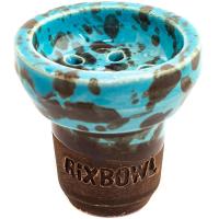 Чаша Rixbowl Glased Ступа Пятнистая Голубая