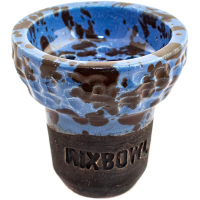 Чаша Rixbowl Glased Ступа Рифленая Пятнистая Синяя