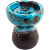 Чаша Rixbowl Glased Turkish Пятнистая Голубая