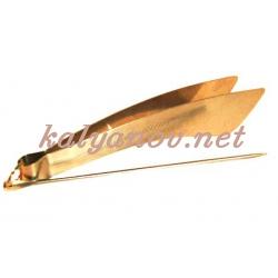 Щипцы MYA золотые 781002