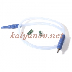 Шланг MYA SILICONE с охлаждением Голубой L=180 см H630 106S