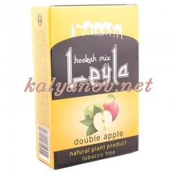 Смесь Leyla Два яблока (double apple) (50 гр) (кальянная без табака)