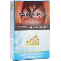 Табак Afzal Ледяное Двойное яблоко 40 г (Афзал)
