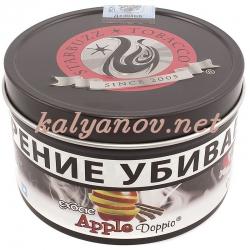 Табак STARBUZZ Яблоко Доппио (Apple Doppio) 100 гр (жел.банка) (USA)