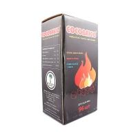 Уголь Cocobrico (натуральный кокосовый) 96 кубиков 1кг