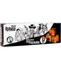 Уголь для кальяна CocoDjango Premium 125 гр 12 куб